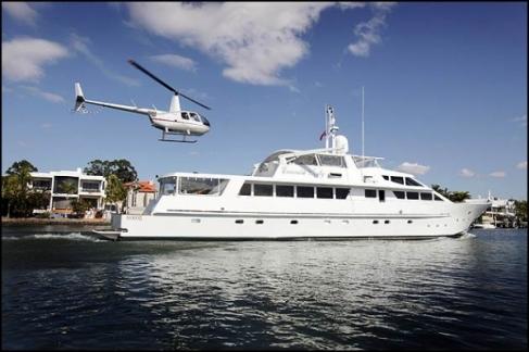 Millions spent to enjoy floating luxury